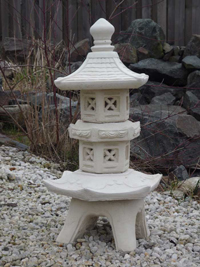 pagode gartenlampe japanische laterne 90 cm xxl yakumi ebay. Black Bedroom Furniture Sets. Home Design Ideas